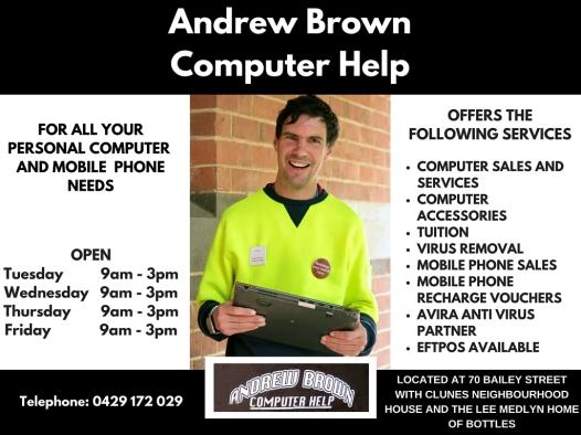 Andrew Brown Computer Help